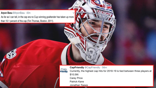 4 numbers to know about Carey Price s monster contract extension ... dcadb43f429