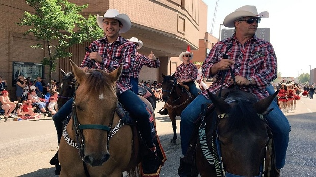Johnny Gaudreau Bret Hart And Others Take Part In Calgary