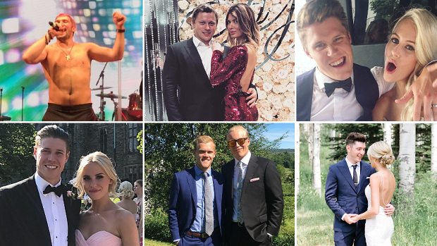 Photos And Videos From NHL Players' Weddings Were All Over