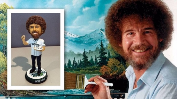 MiLB team to host Bob Ross Night this weekend and it