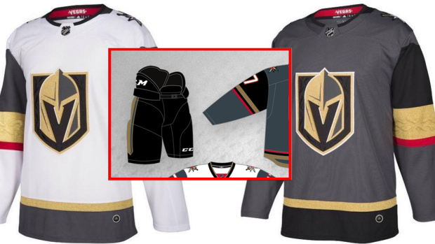 Fan almost perfectly predicted Golden Knights jerseys six months ... 016107ad3