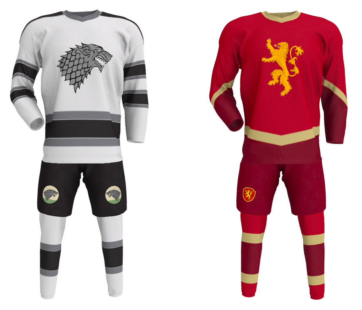 20 incredible Game of Thrones inspired hockey jerseys - Article ...