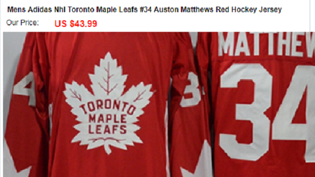 size 40 f0a7f 29f74 5 bizarre and fake NHL designs showing up on knock-off ...