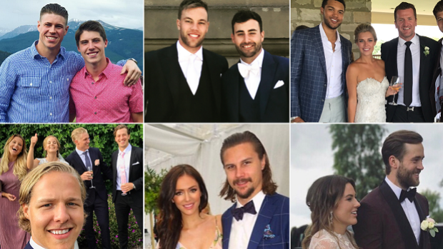 NHL Weddings Filled Another Weekend With Photos And Videos