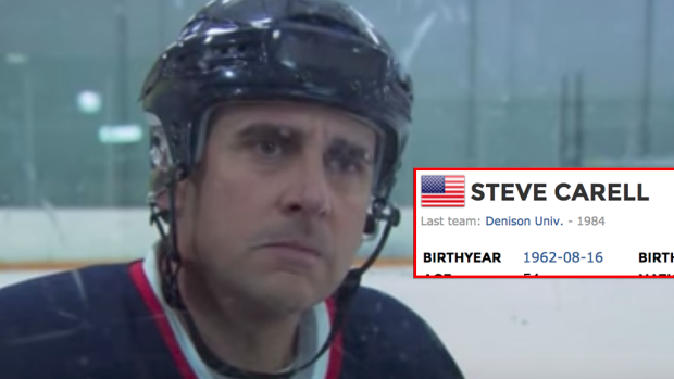 did you know steve carell has his own  u0026quot elite prospects u0026quot  page  - article