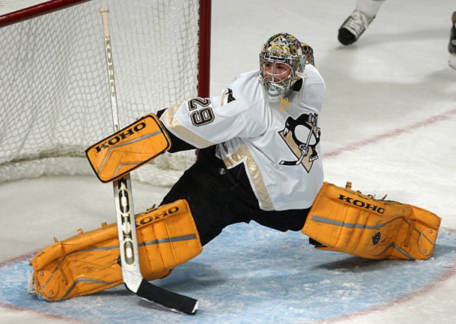 4bb5a96d01d A deep dive into goalies wearing pads that look like the net and the ...