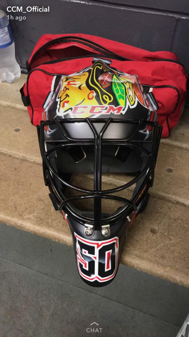 Ccm Unveils Crawford And Luongo S Stunning New Masks For The Upcoming Nhl Season Article Bardown