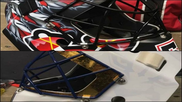 Ccm Unveils Crawford And Luongo S Stunning New Masks For The