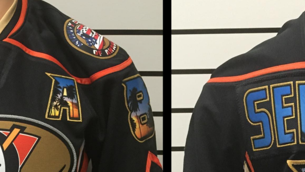 new product c7936 2a316 This awesome custom Selanne jersey creatively features old ...