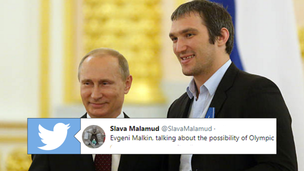 bd2dede943b Malkin referenced Ovechkin s relationship with Putin while ...