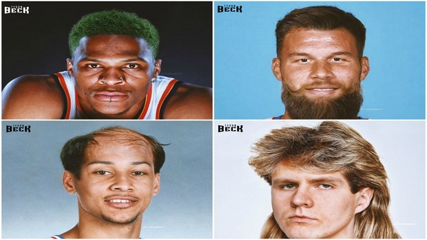 Current NBA players get fantastic throwback hairstyles in Fresh ...