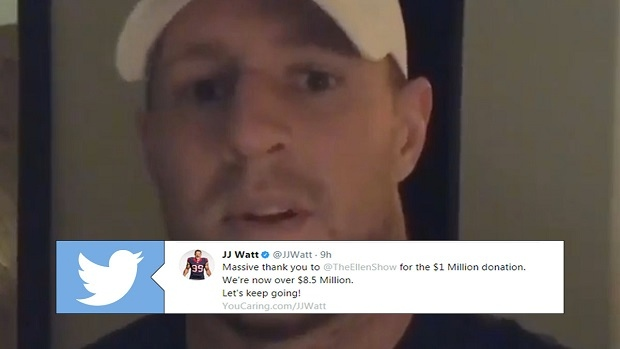 Jj Watts Hurricane Relief Fund Has Now Reached Over 85 Million