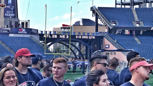 Image result for 28-3 on patriots scoreboard