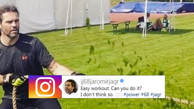 Jaromir Jagr Instagram