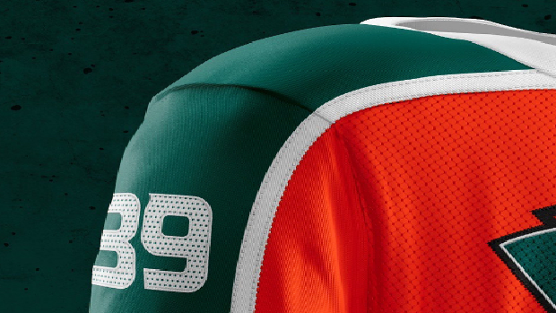 This incredible Anaheim Ducks jersey