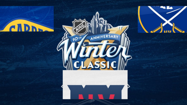 f0ebb878e The Sabres  and Rangers  logos for the Winter Classic have a retro feel and  are fantastic - Article - Bardown