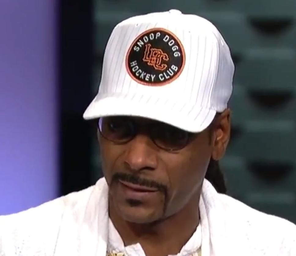 best cheap 00c9a ecd71 The origin of Snoop Dogg's awesome 'Snoop Dogg Hockey Club ...