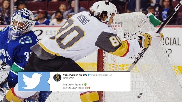 7c7469349 You need to follow the Golden Knights on Twitter because their in-game  tweets are too good - Article - Bardown