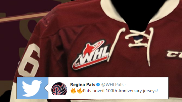 The Regina Pats unveiled their 100th anniversary sweater ahead of their home opener.