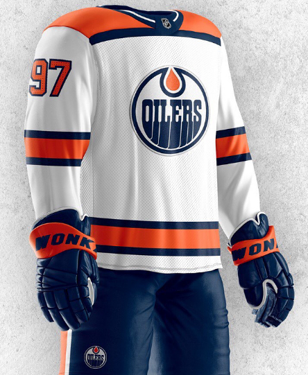 more photos 27c7d f92b4 These awesome jersey concepts give the Edmonton Oilers' new ...