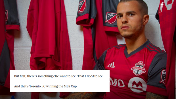 official photos b7139 ea5d0 Giovinco pens letter talking about how much he loves being ...