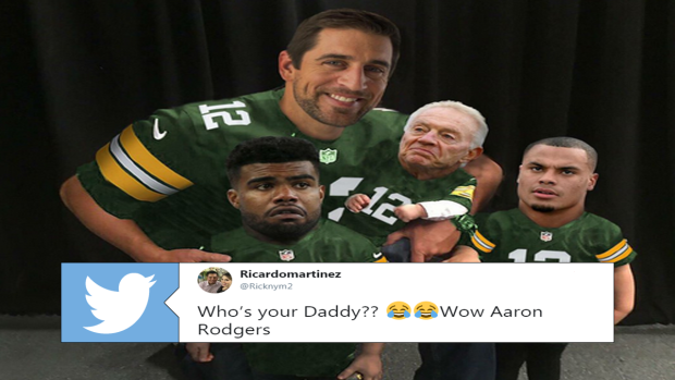 Internet Reacts To Aaron Rodgers Latest Heroics In Game Winning Drive Over Dallas Article Bardown