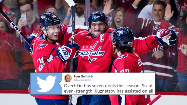 7 unbelievable stats about Ovechkin s 7 goals in two games - Article -  Bardown a034c9df68e1