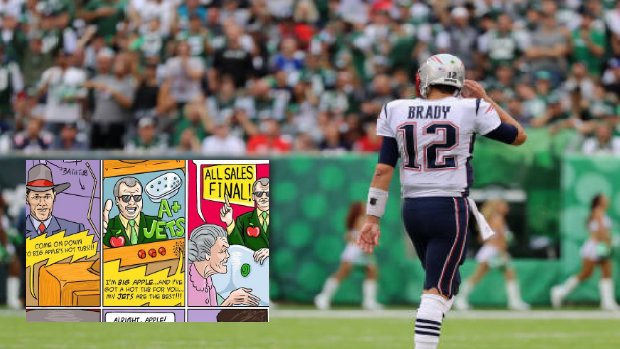 Tom Brady Released A Hilarious Comic Strip Following The Patriots