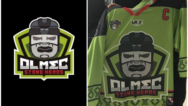 53e234651 The Mexican Hockey League logos and jerseys are fantastic - Article ...