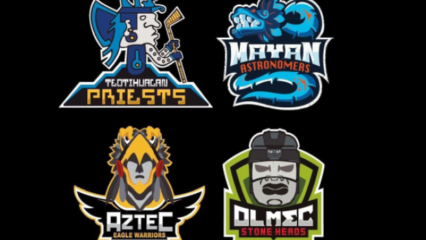 The Mexican Hockey League Logos And Jerseys Are Fantastic