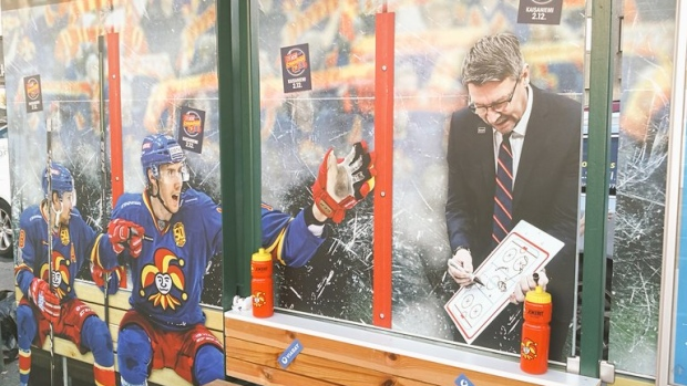 Jokerit bench