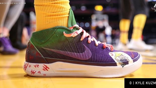 Lakers' Kyle Kuzma pays homage to Kobe