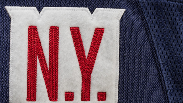 best website 83d3c 4f4ff Rangers reveal their official Winter Classic jersey and it's ...