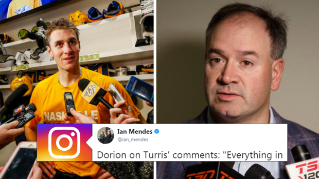 Julie Turris Used One Word To Throw Shade On Sens Explanation Of The Kyle Turris Trade Article Bardown