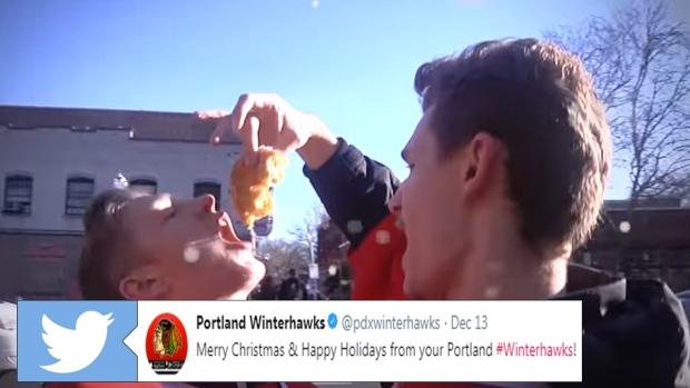 portland winterhawks lip sync all i want for christmas is you - All I Want For Christmas Is You Youtube