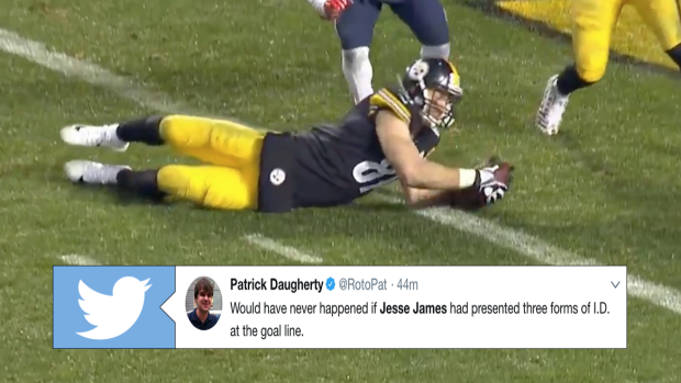 Internet Sounds Off On Nfl Catch Rule Steelers Decision To