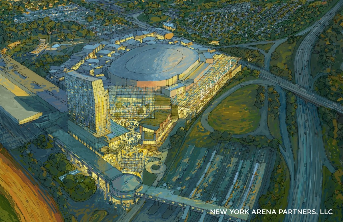 The Islanders New Arena Looks Gorgeous Based Off These