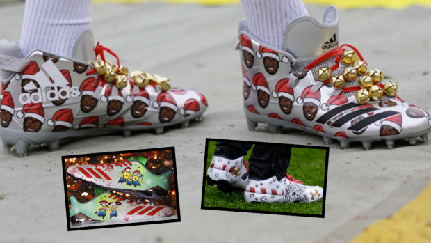 89440a91b BarDown Countdown  The eight cleats of Christmas that football gave ...