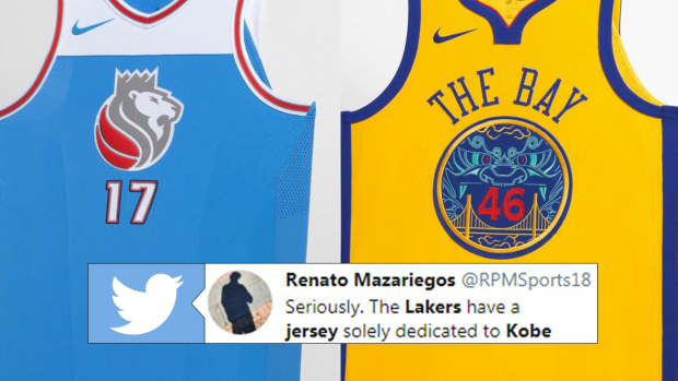 Kings & Warriors Jerseys
