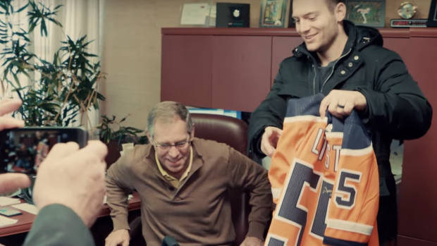 Following A Serious Car Accident The Oilers Reached Out To Two