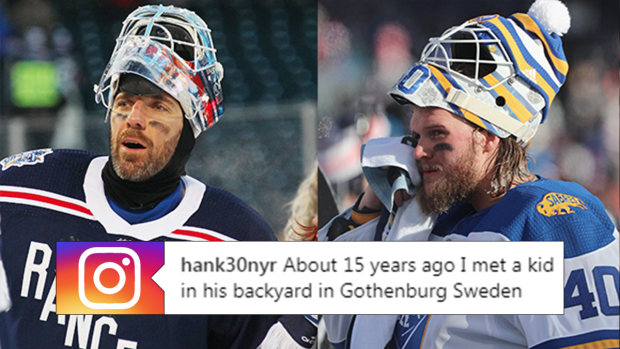 Lundqvist Tells Interesting Story About First Time Meeting Lehner