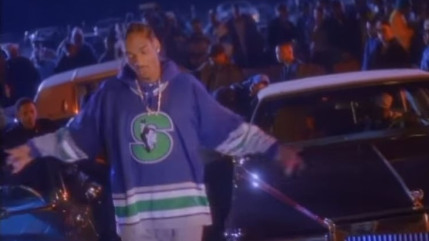 AHL team will rock a jersey Snoop Dogg wore in the Gin   Juice music video  for throwback night - Article - Bardown e5a26f1c5a5