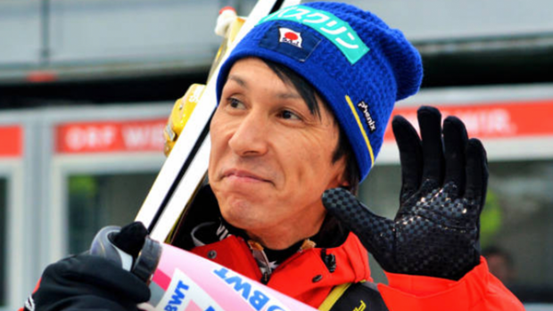 Japanese ski jumper just qualified for his record 8th Olympics, and he is also way too cool ...