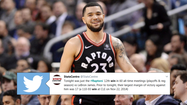 185494932c69 Basketball world reacts to the Raps crushing win over the Cavs - Article -  Bardown