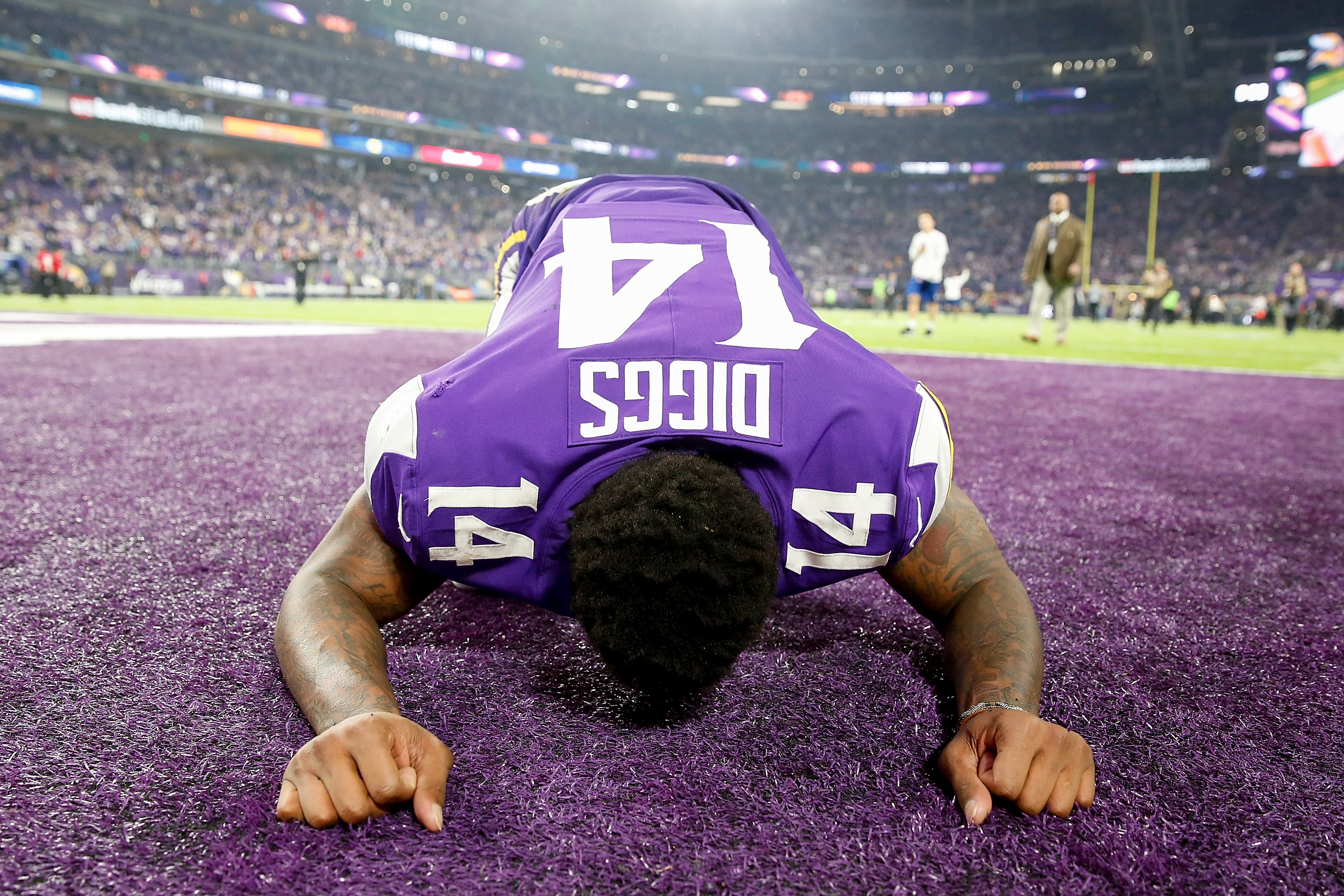 6 Incredible Photos From Stefon Diggs Game Winning