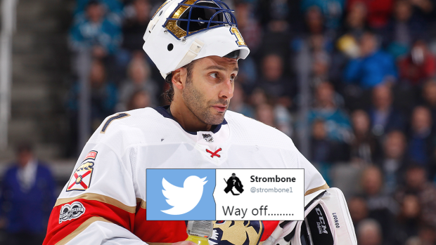 Roberto Luongo Shared His Serendipitous Result In Social Media Game