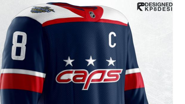 factory authentic 9189a cadad Jersey designer creates Caps concept uniform for Stadium ...