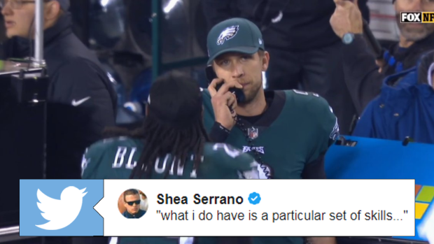 The Internet Responds To Foles On The Phone During Blowout By Creating A Ton Of Hilarious Memes Article Bardown
