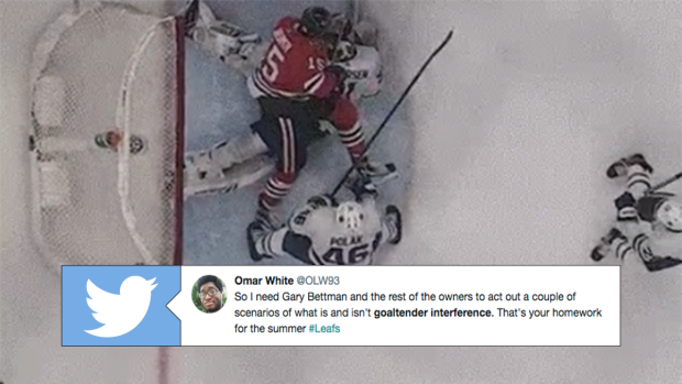Leafs Fans And Hockey World Reacts To Latest Goaltender Interference
