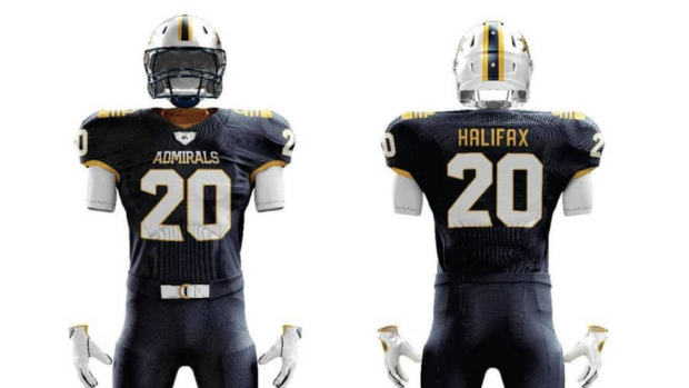 These Team Names And Concept Jerseys For Potential Cfl Team In